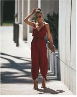 ZL815 Fashion Jumpsuit Red