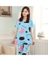 FG002 Fashion Sleepwear Set Blue