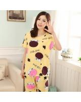 FG002 Fashion Sleepwear Set Yellow
