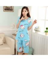 FG003 Stylish Sleepwear Set Blue