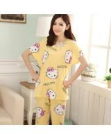 FG003 Stylish Sleepwear Set Yellow