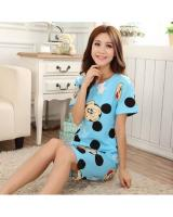 FG004 Cute Sleepwear Set Blue