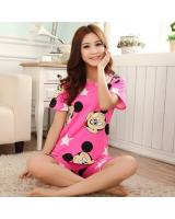 FG004 Cute Sleepwear Set Pink