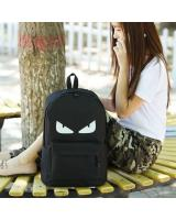 FG012 Glitter School Backpack Demon