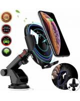043469 Infrared Sensor Auto-Clamp Wireless Car Charger Phone Holder
