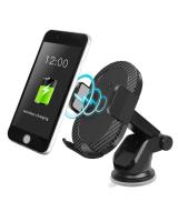 043483 Fast 3 in 1 wireless car charger phone holder air vent mount