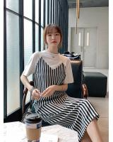 ZL826 Stylish Dress Stripe