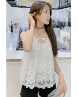 ZL828 Casual Top White