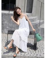 FF-203 Trendy Strap Dress White
