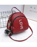 KW80414 WOMEN'S LOVE BACKPACK RED