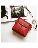 KW80417 VINTAGE STYLE SQUARE BAG RED