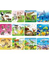 ST-687 Kids Puzzle Animal World