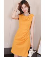 ST-692 Trendy Dress Yellow