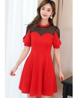 ST-696 Lovely Dress Red