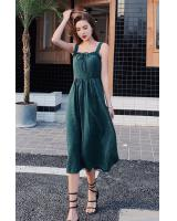 ZL841 Pretty Dress Green
