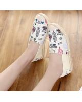 ST-698 Fashion Shoe Beige