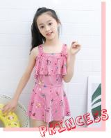 ST-693 Kids Swimwear Red