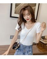 ZL849 Casual Knitted Top White