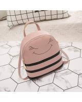 KW80424 Smile Bee Backpack Pink