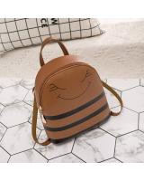 KW80424 Smile Bee Backpack Brown