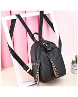 KW80436 LOVE ZIP BACKPACK BLACK