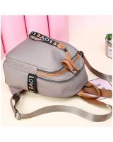 KW80436 LOVE ZIP BACKPACK KHAKI