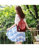 KW80437 CASUAL BACKPACK RED