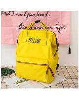 KW80440 TRAVEL BACKPACK YELLOW