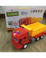 218 Music Dump Truck Rolling Car Toys(Ready Stock)