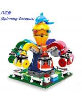 (Spinning Octopus)星堡积木 XINGBAO Assembled Building Blocks Toys
