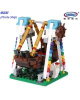 (Pirate Ship)星堡积木 XINGBAO Assembled Building Blocks Toys