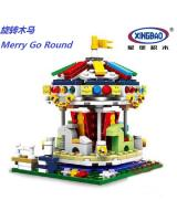 (Merry Go Round)星堡积木 XINGBAO Assembled Building Blocks Toys