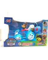 (020 PAW PATROL)360 Stunt Rolling RC Car With Light And Music Car Toy(Ready Stock)