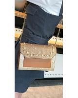 KW80444 BLINK PEARL SLING BAG GOLD