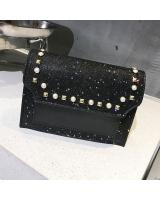 KW80444 BLINK PEARL SLING BAG BLACK