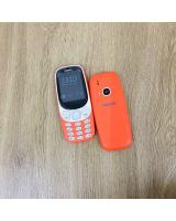 (WARM RED)Nokia 3310(2017) IMPORT REFURBISHED (Ready Stock)