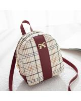 KW80459 CUTE RIBBON WOMEN'S BACKPACK RED