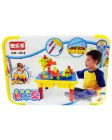 Simulation Block With Table For Children Toys