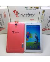 (PINK)TRONTON T7 7''inch DUAL-SIM 3G CALL TAB TABLET (READY STOCK)