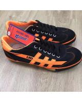 (BLACK/ORANGE44)LEO Model F70S Futsal Shoe Made In Thailand(Ready Stock)