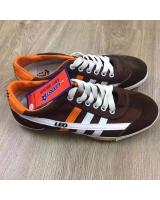 (BROWN/ORANGE44)LEO Model F70S Futsal Shoe Made In Thailand(Ready Stock)
