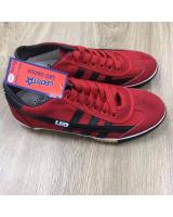 (RED/BLACK44)LEO Model F70S Futsal Shoe Made In Thailand(Ready Stock)