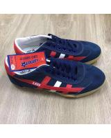 (BLUE/RED44)LEO Model F70S Futsal Shoe Made In Thailand(Ready Stock)
