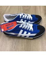 (BLUE/WHITE 44)LEO Model F70S Futsal Shoe Made In Thailand(Ready Stock)