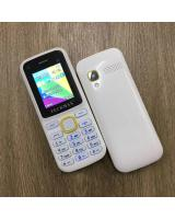(YELLOW/WHITE)OEM TECKMAX 37 Dual Sim Basic Phone 95% NEW