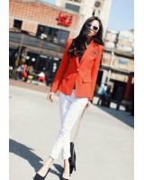BM71149 Stylish Blazer Orange