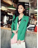 BM71149 Stylish Blazer Green