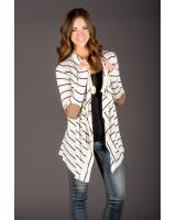 BM71159 STRIPED CARDIGAN AS PICTURE