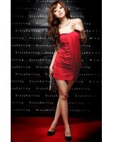 BM71168 SEXY TUBE DRESS RED