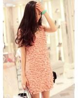 BM71169 LOVELY CASUAL DRESS PINK
